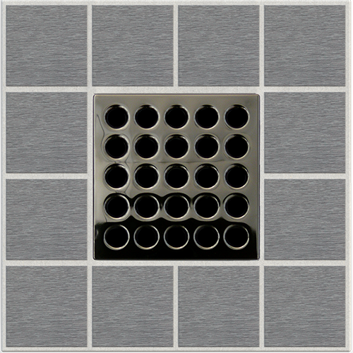 PRO Drain Cover - Black Chrome
