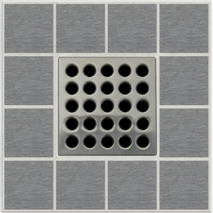 PRO Drain Cover - Brushed Nickel