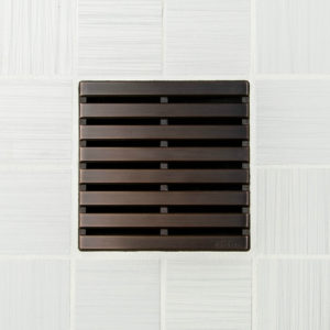 PARALLEL - Oil Rubbed Bronze - Unique Drain Cover