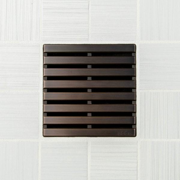PARALLEL - Oil Rubbed Bronze - Unique Drain Cover