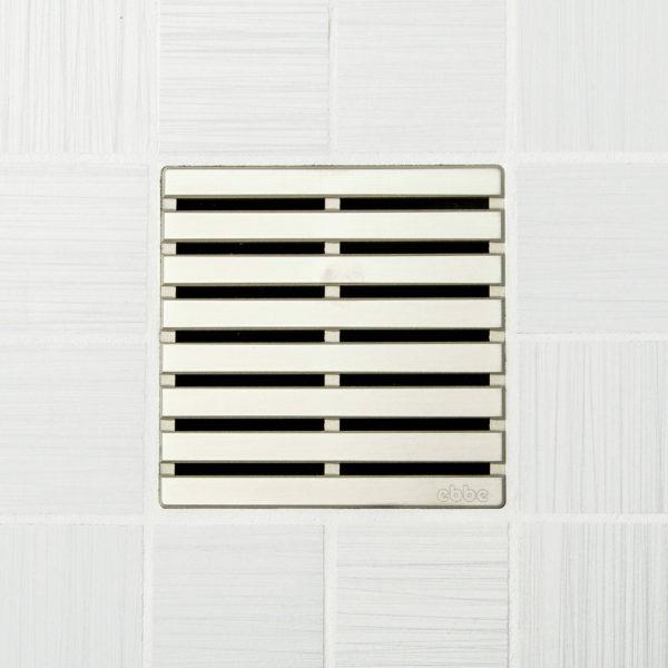 PARALLEL - Satin Nickel - Unique Drain Cover