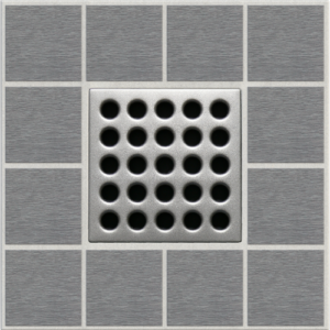 PRO Drain Cover - Satin Nickel