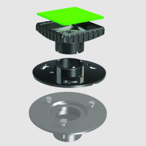 AB&A Adapter Kit - AB&A Plate and Ebbe Square Riser