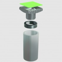 E206 – 3″ SCH 40 PVC Adapter