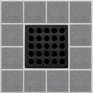 PRO Drain Cover - Matte Black