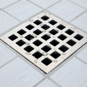 QUADRA - Satin Nickel - Unique Drain Cover
