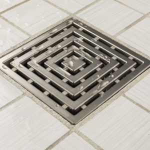 FRAMES - Brushed Nickel - Unique Drain Cover