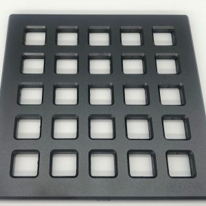 QUADRA - Matte Black - Unique Drain Cover