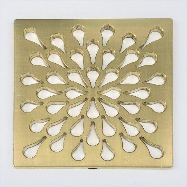 SPLASH - Brushed Gold - Unique Drain Cover