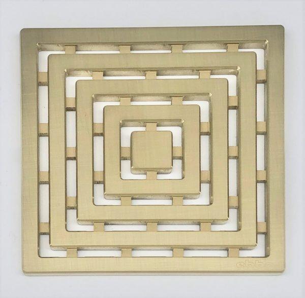 FRAMES - Brushed Gold - Unique Drain Cover