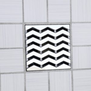 TREND - Polished Stainless Steel - Unique Drain Cover
