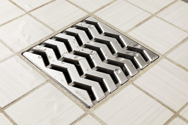 TREND - Satin Stainless Steel - Unique Drain Cover