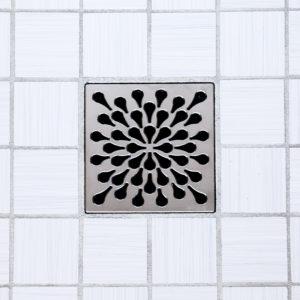 SPLASH - Satin Nickel - Unique Drain Cover