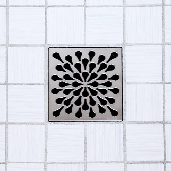 SPLASH - Satin Nickel - Unique Drain Cover