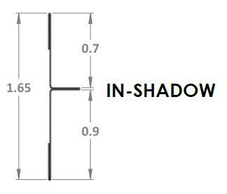 E6114 - In-Shadow Ebbe INNI Trim Profile